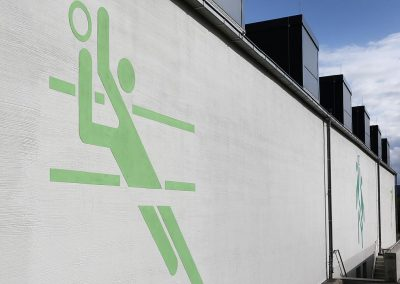 IKG Wilthen Gymnasium Turnhalle