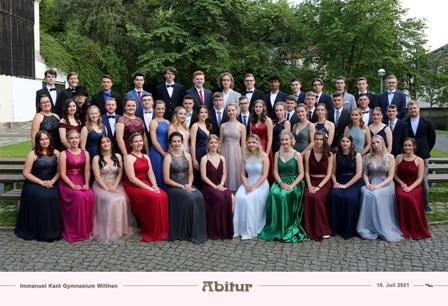 Herzlichen Glückwunsch zum Abitur!